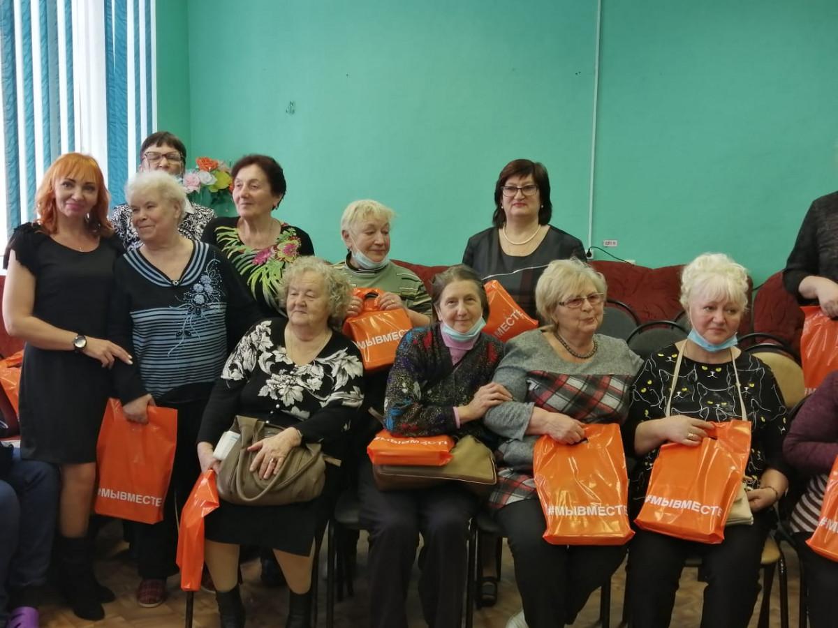 250 нижегородок получили подарки вгодовщину движения #МыВместе