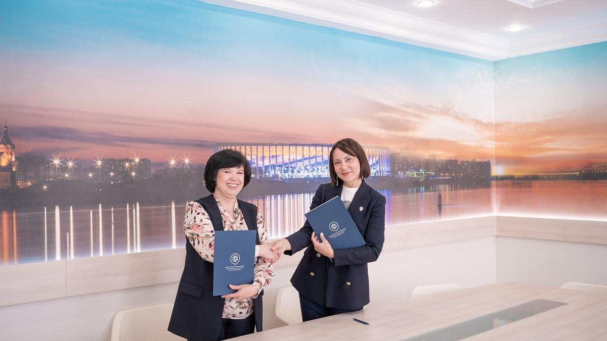 Корпоративный университет Нижегородской области иНГЛУ подписали соглашение осотрудничестве