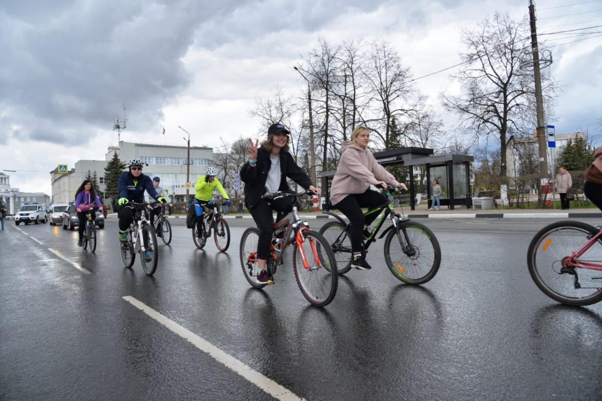 Традиционный марафон «Открытие велосезона» состоялся вДзержинске