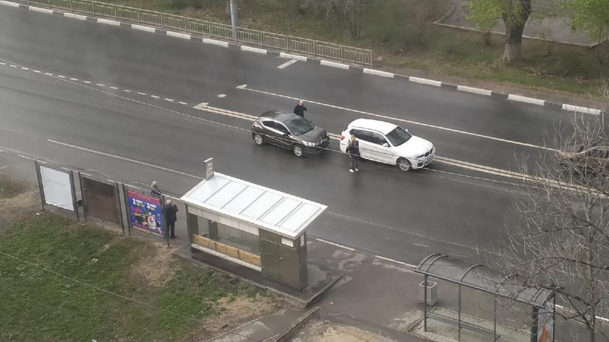 Пробка из-за ДТП образовалась наулице Родионова вНижнем Новгороде