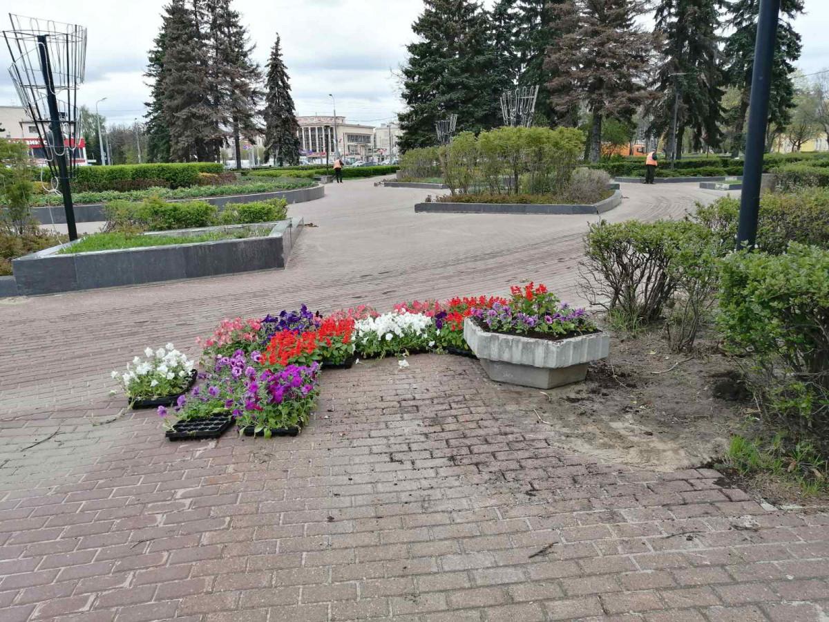 7 тысяч кв. мцветников обустроят вАвтозаводском районе
