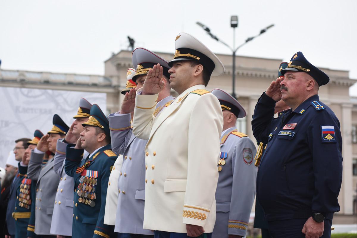 Никитин: «Парад Победы вНижнем Новгороде стал самым масштабным вистории региона»