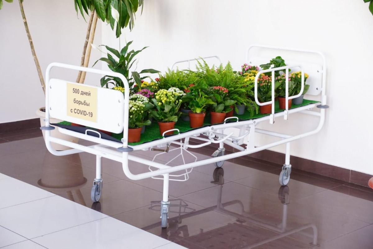 Инсталляция «Жизнь всегда побеждает» открылась внижегородской больнице имени Семашко
