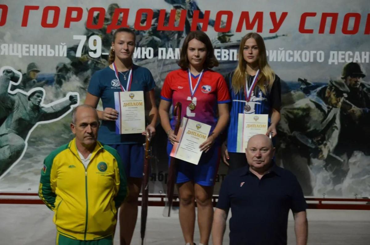 Нижегородская спортсменка заняла 1 место наКубке России погородошному спорту