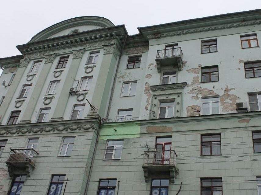 Как оформить ремонт фасада здания