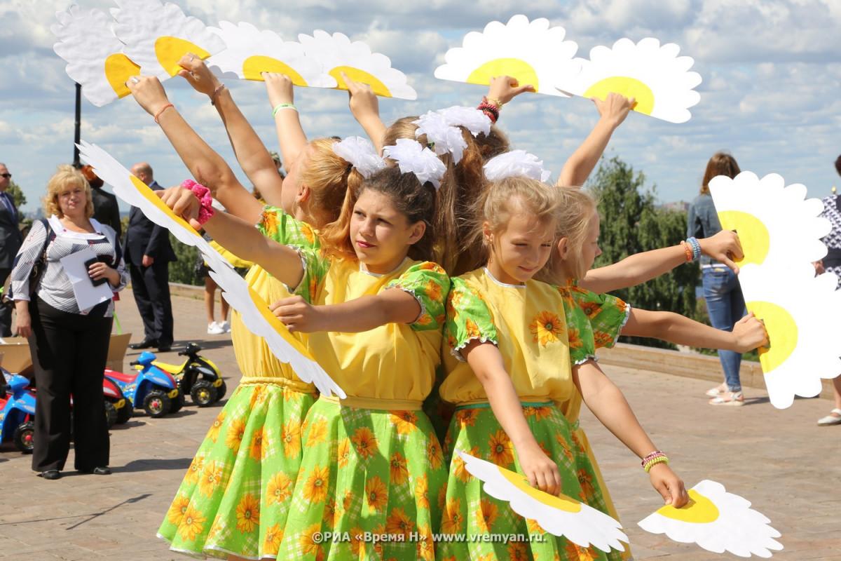 Праздник цветов, посвященный Году театра, открылся вНижегородском кремле