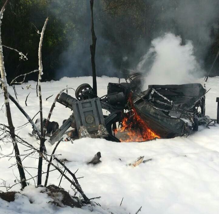 Водитель автоцистерны сдизтопливом, перевернувшейся вКстовском районе, погиб