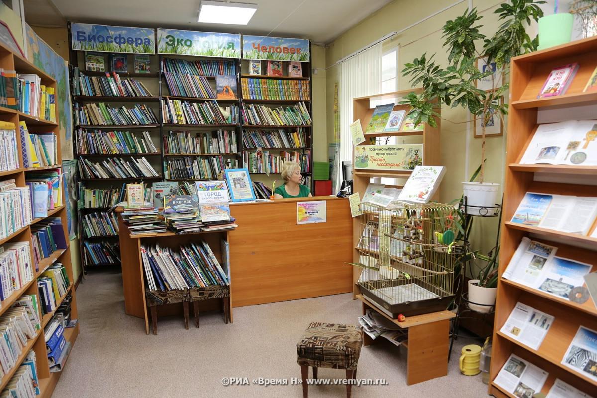 Библиотеки трех районов Нижегородской области получат 20 миллионов рублей