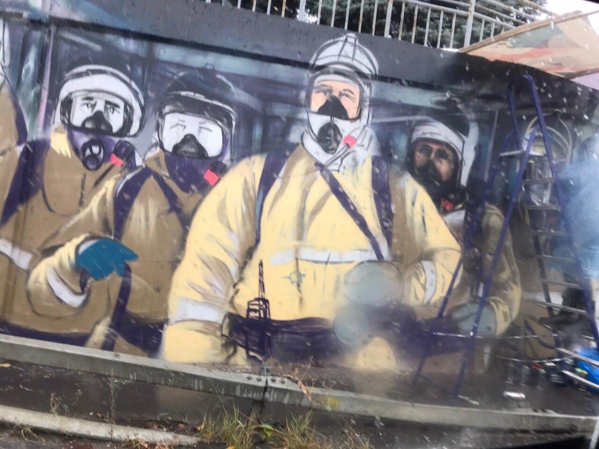 Граффити манчестер юнайтед