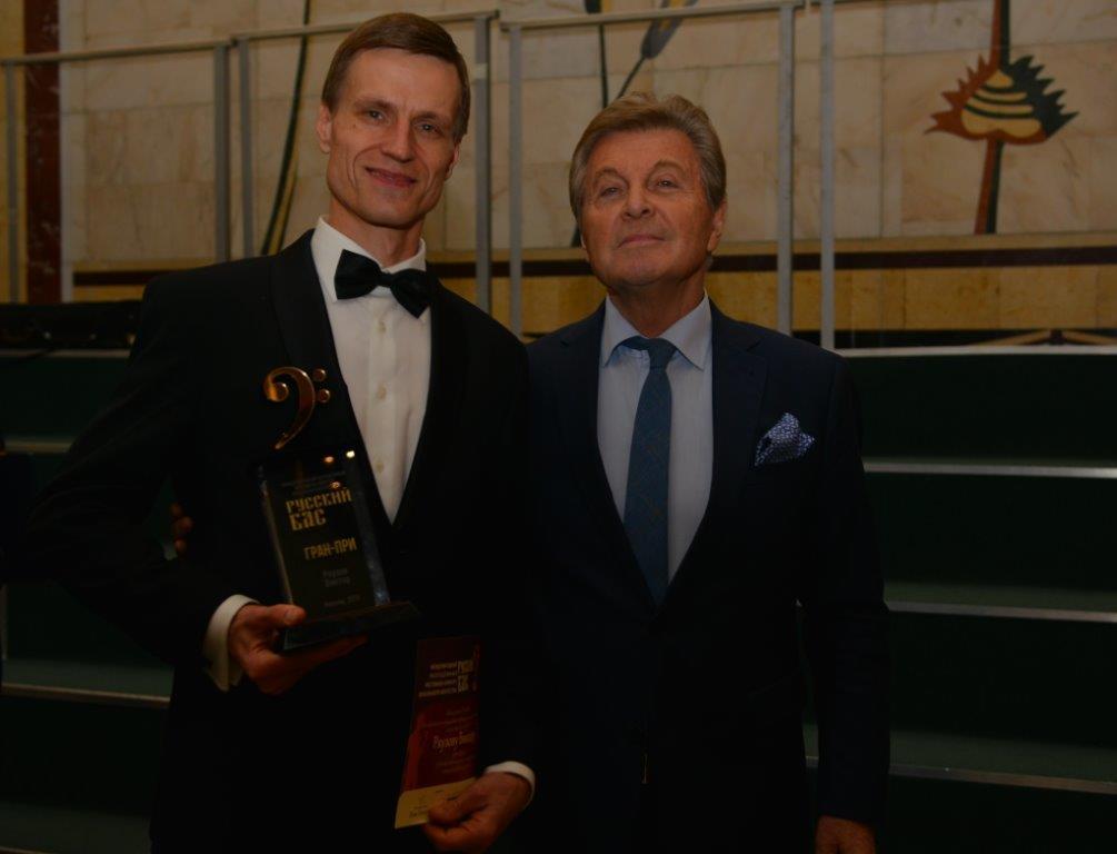 Нижегородец Виктор Ряузов стал обладателем высшей награды фестиваля «Русский бас» вМоскве
