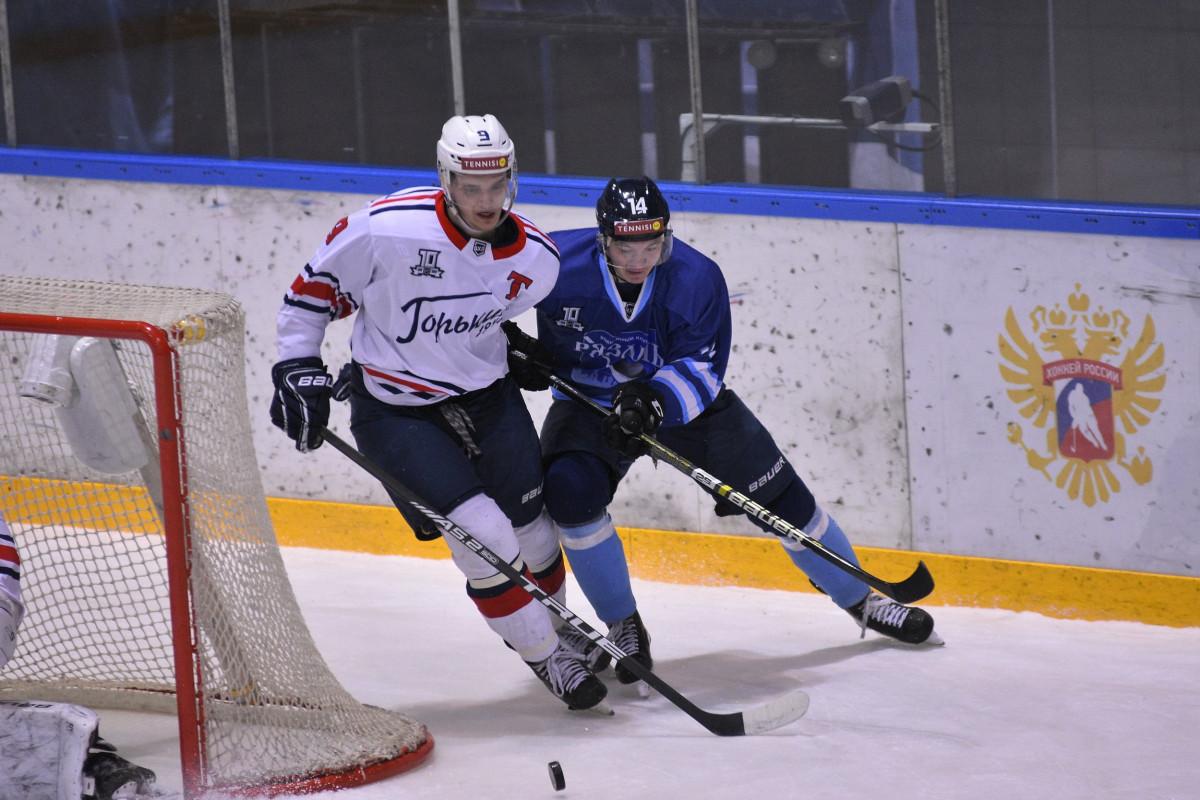 Хоккеисты «Торпедо-Горький» проиграли «Рязани»
