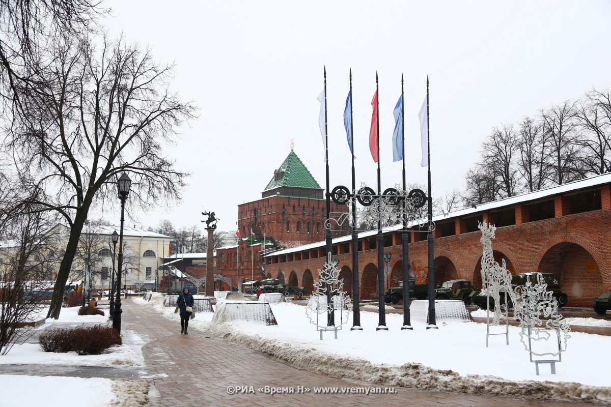 Территорию Нижегородского кремля планируют освободить оторганов власти к2025 году