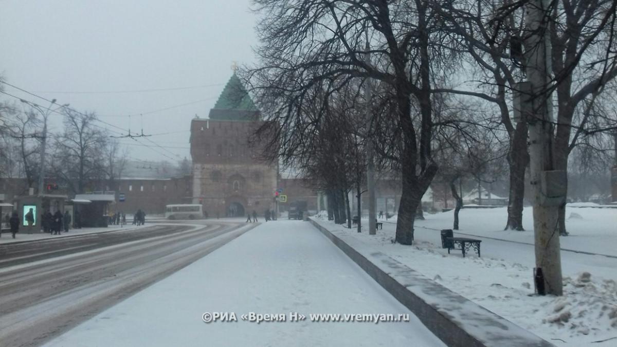 Метель иснегопад накроют Нижний Новгород этой ночью