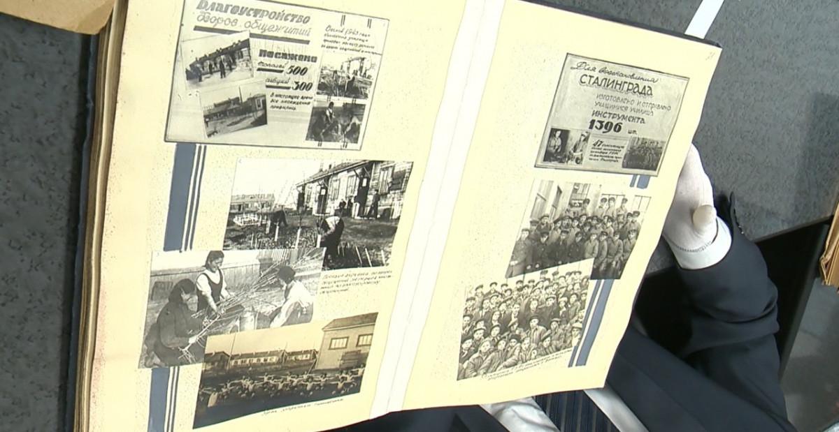 Нижегородские архивисты представили документы опомощи горьковчан Сталинграду