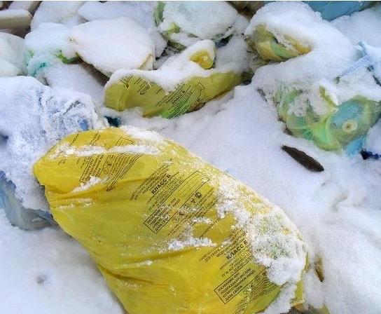 Свалку опасных отходов сБора обнаружили вРязани