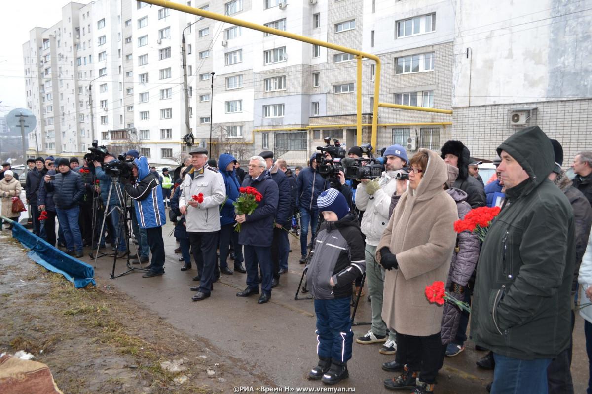 Нижегородцы почтили память Бориса Немцова натраурном митинге