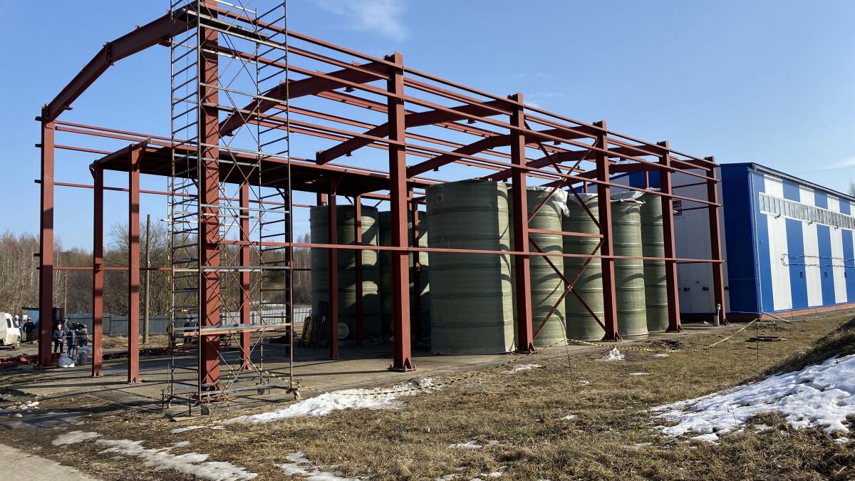 Врабочем поселке Сосновское строятся очистные сооружения врамках нацпроекта «Экология»