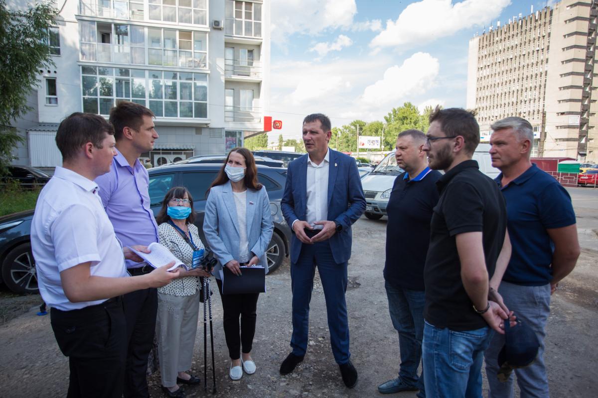 ВЛенинском районе Нижнего Новгорода началось благоустройство общественных пространств
