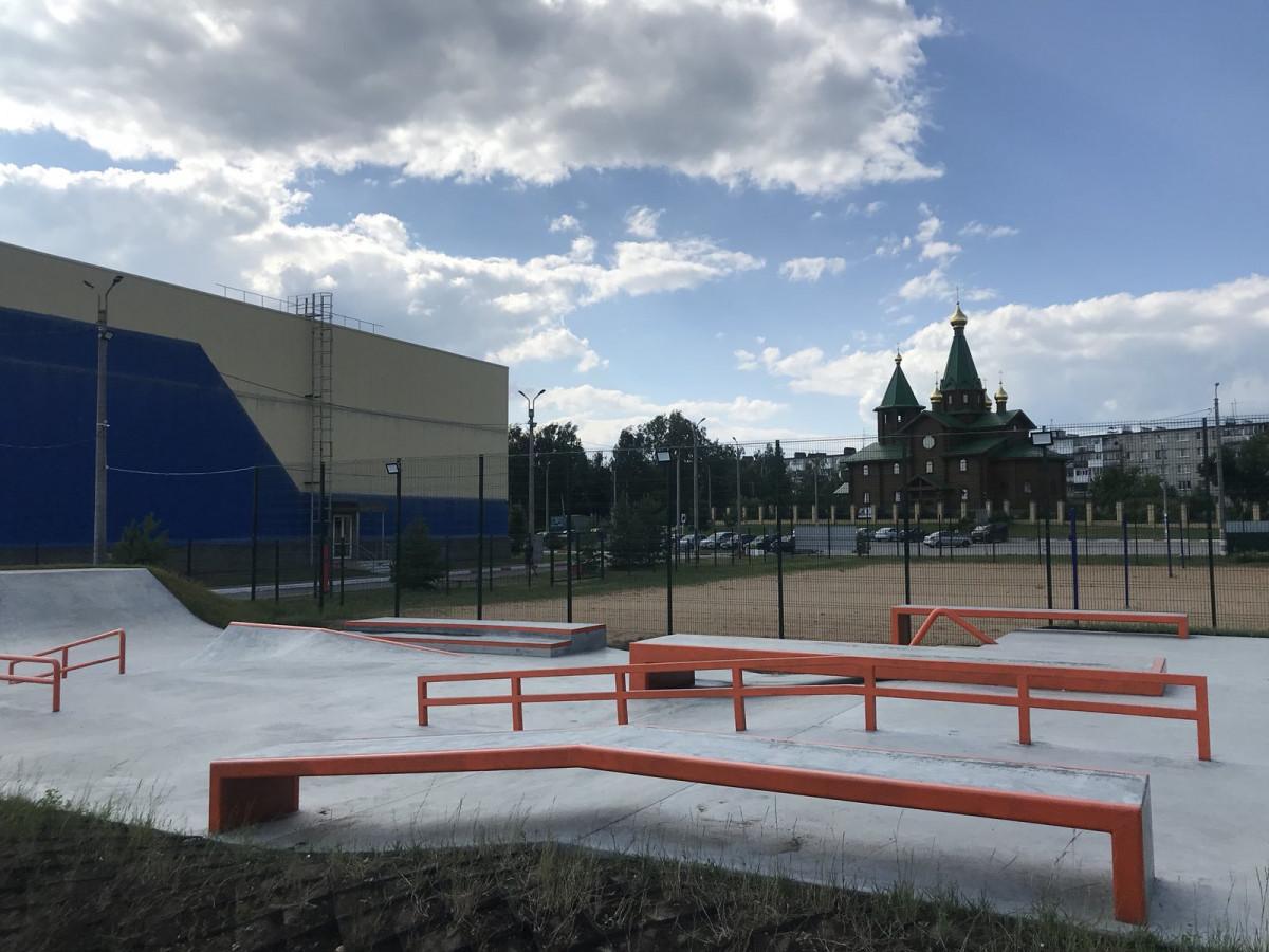 Площадки для скейтбординга ипляжных видов спорта откроются вДзержинске
