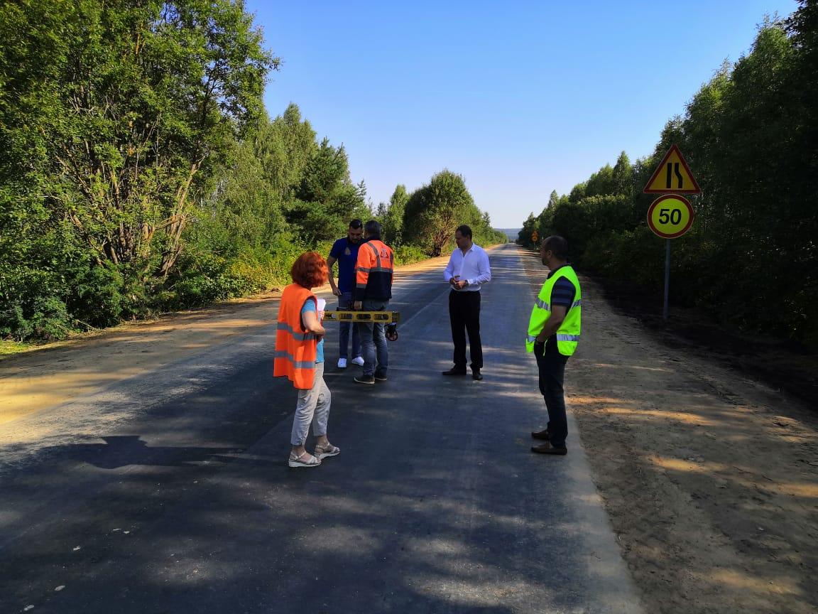 Подъезд кселу Второрусское отремонтирован понацпроекту БКАД