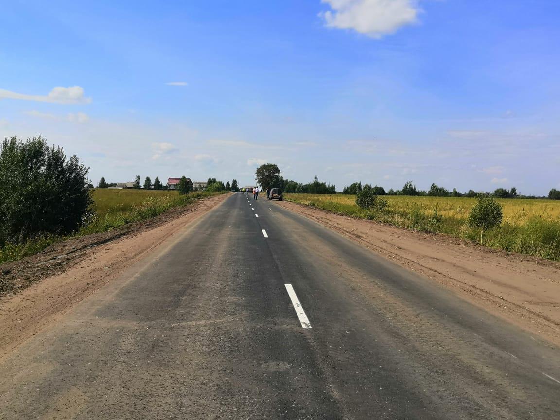 Завершился ремонт дороги Вознесенское— Куриха— Сарма вНижегородской области