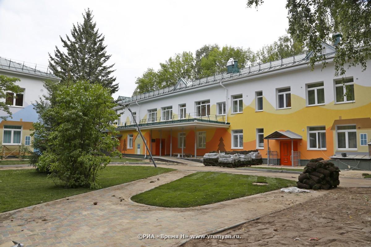 ВНижнем Новгороде появился первый православный детский сад