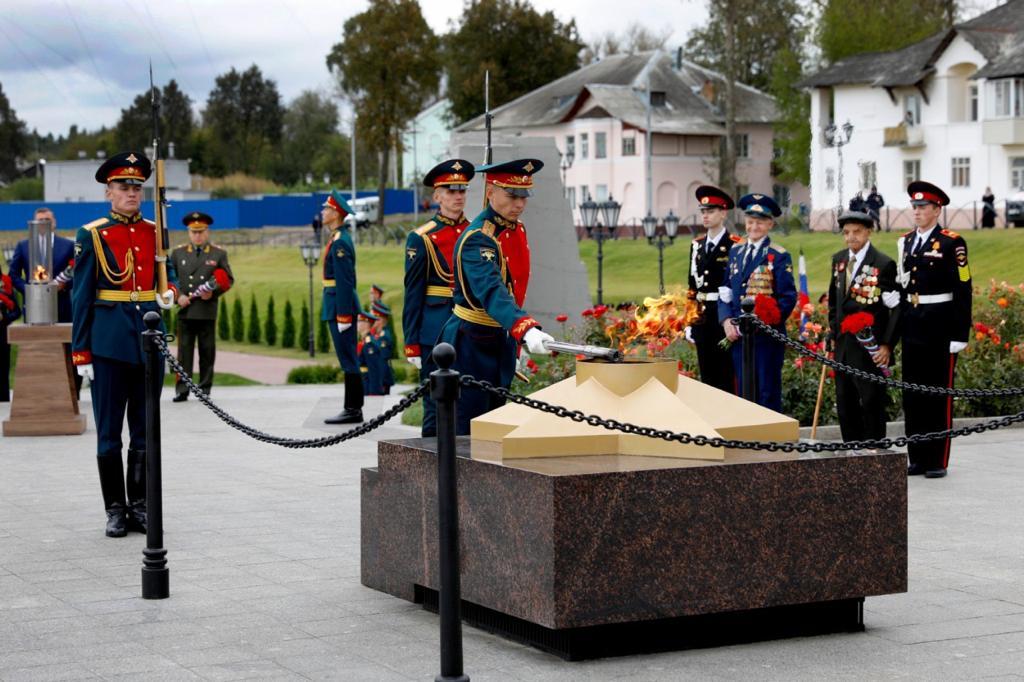 ВТуле открыт первый вРоссии мемориал энергетикам— героям Великой Отечественной войны