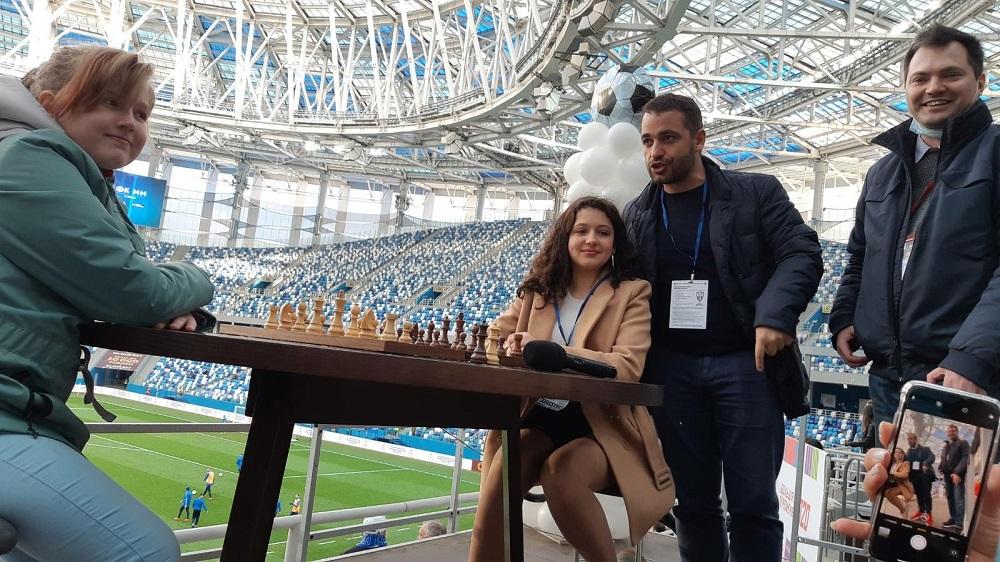 Уникальный шахматный поединок состоялся вНижнем Новгород