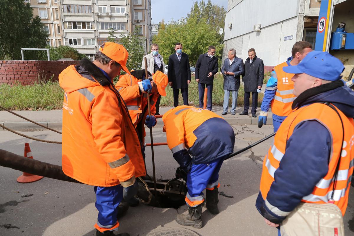 Быстроту реагирования Нижегородского водоканала проверили вгорадминистрации