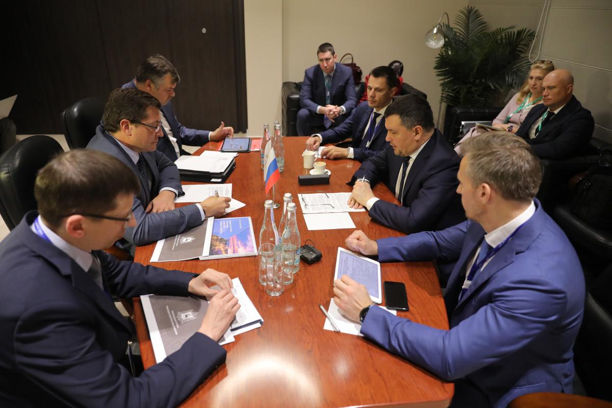 Никитин обсудил вопросы сотрудничества сгендиректором «Почты России»