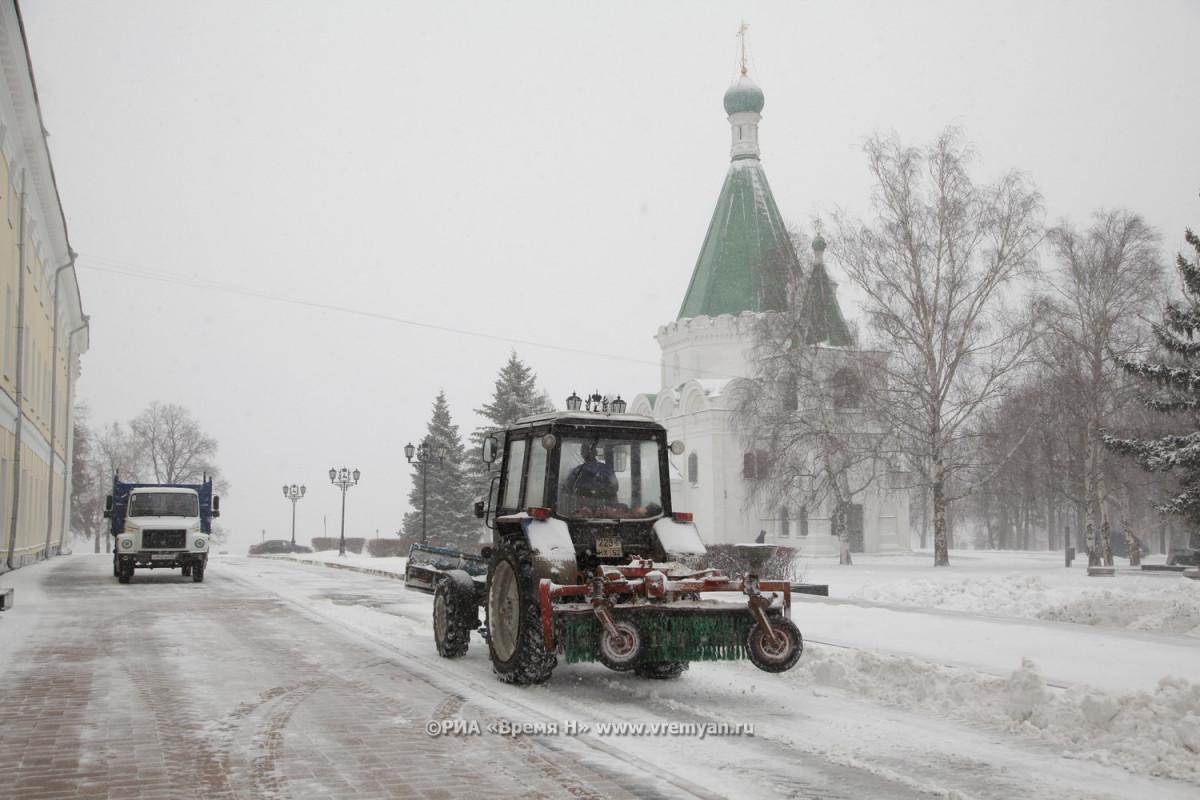 Нижегородские дороги впервые будут обрабатывать технической солью