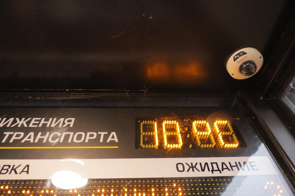 ВДзержинске проверили первую «умную» остановку общественного транспорта
