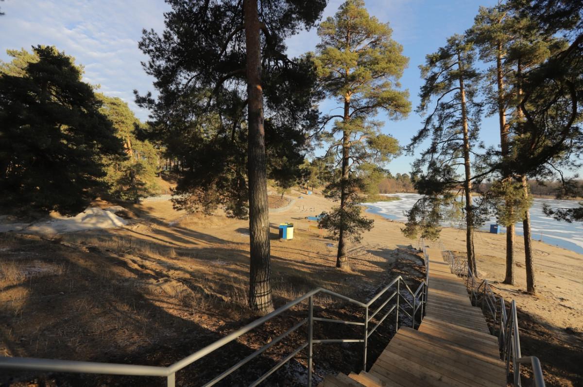 ВДзержинске завершается второй этап благоустройства территории озера Святого