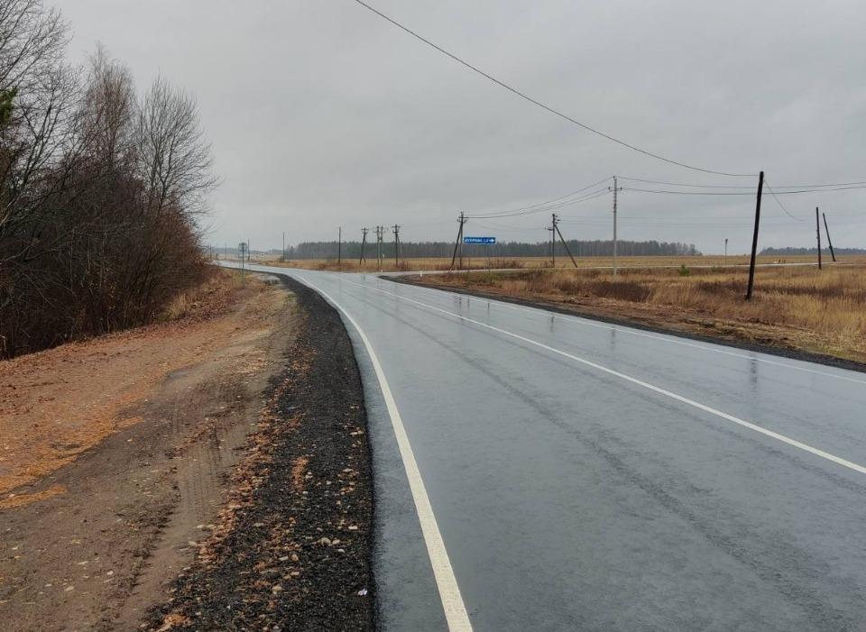 28км дороги Кстово— Дальнее Константиново отремонтировали вНижегородской области
