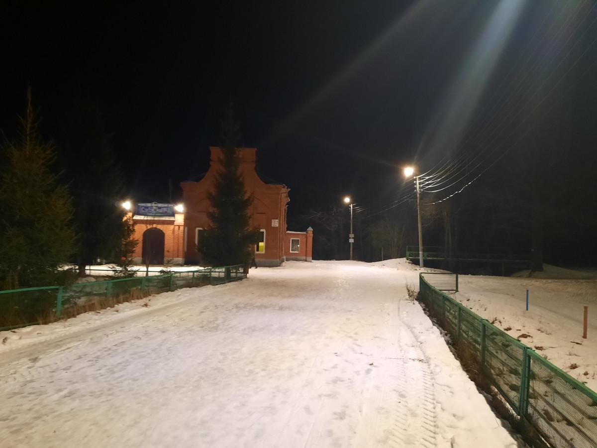 «Нижновэнерго» подсветило светодиодами 2,5км лыжной трассы вАрзамасе